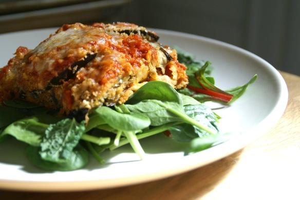 Easiest Eggplant Parmesan