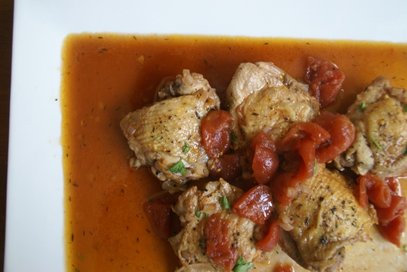 Rookery | Vinegar-Braised Chicken Thighs