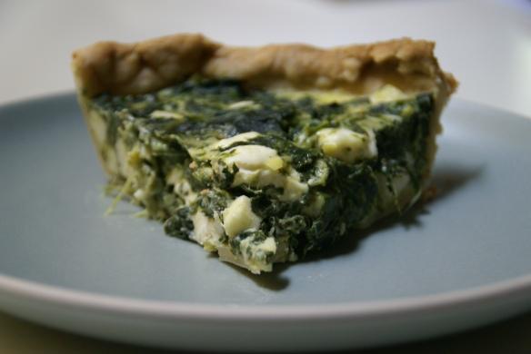 Spanakopita (Spinach) Quiche